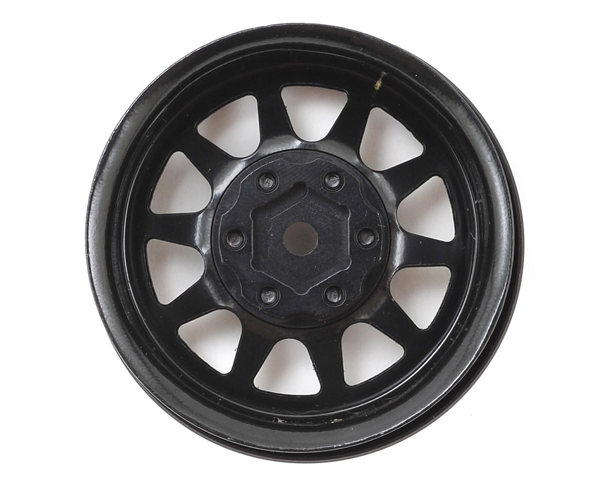 RC4WD OEM Stamped Steel 1.9 Beadlock Wheel (Black) (4)