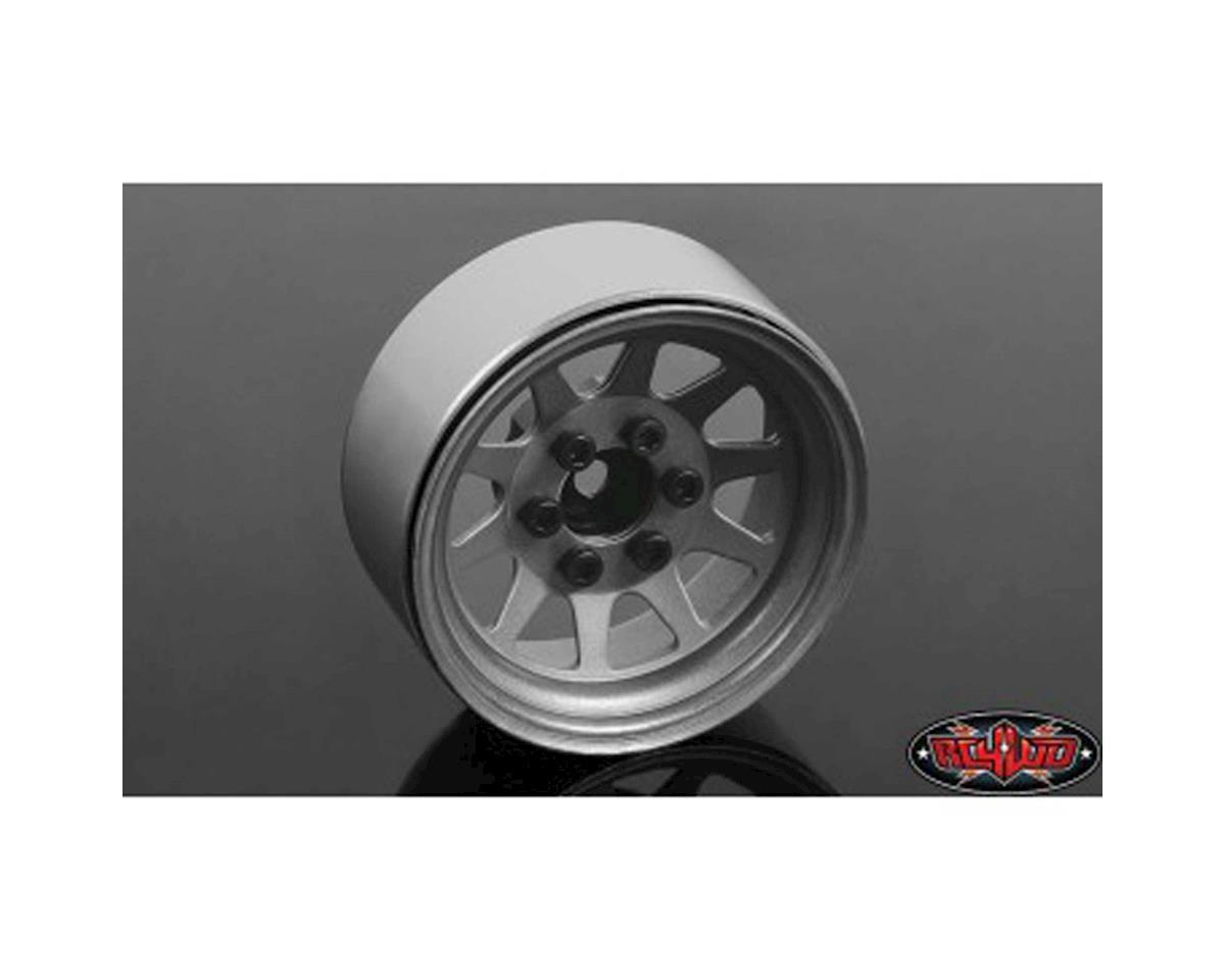 RC4WD OEM Stamped Steel 1.9 Beadlock Wheels Plain (4)