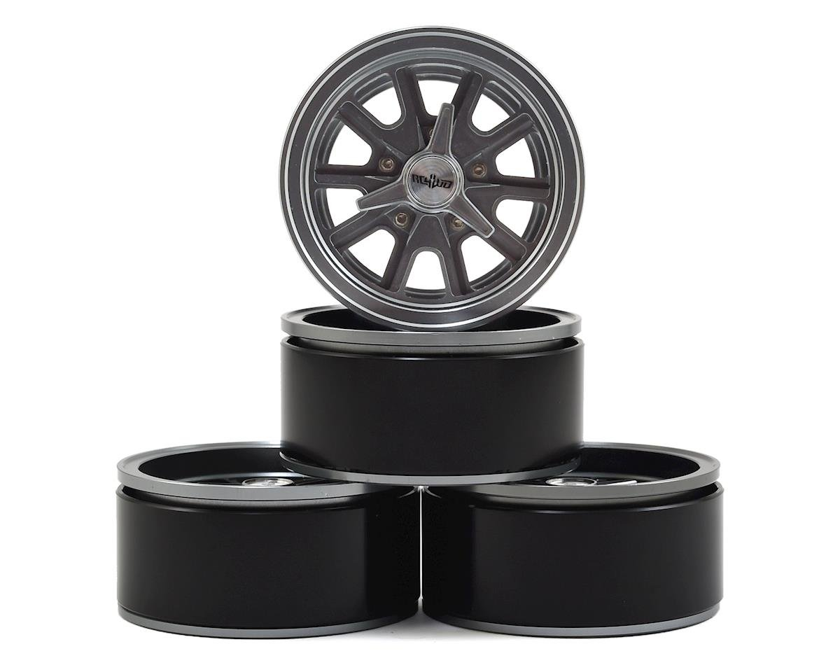 "RC4WD Shelby 1.9"" Beadlock Wheel (4) (Axial SCX10 II)"