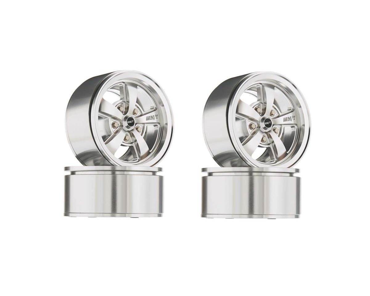 "RC4WD Mickey Thompson Street Comp SC-5 1.9"" Beadlock Wheel (Silver) (4)"