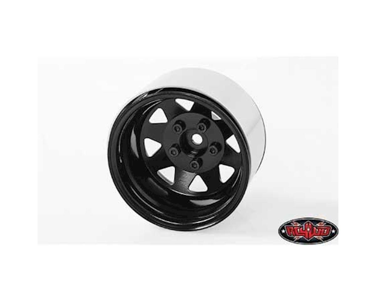 RC4WD 5-Lug Deep Dish Wagon 1.9 Beadlock Wheels (Black) (4)