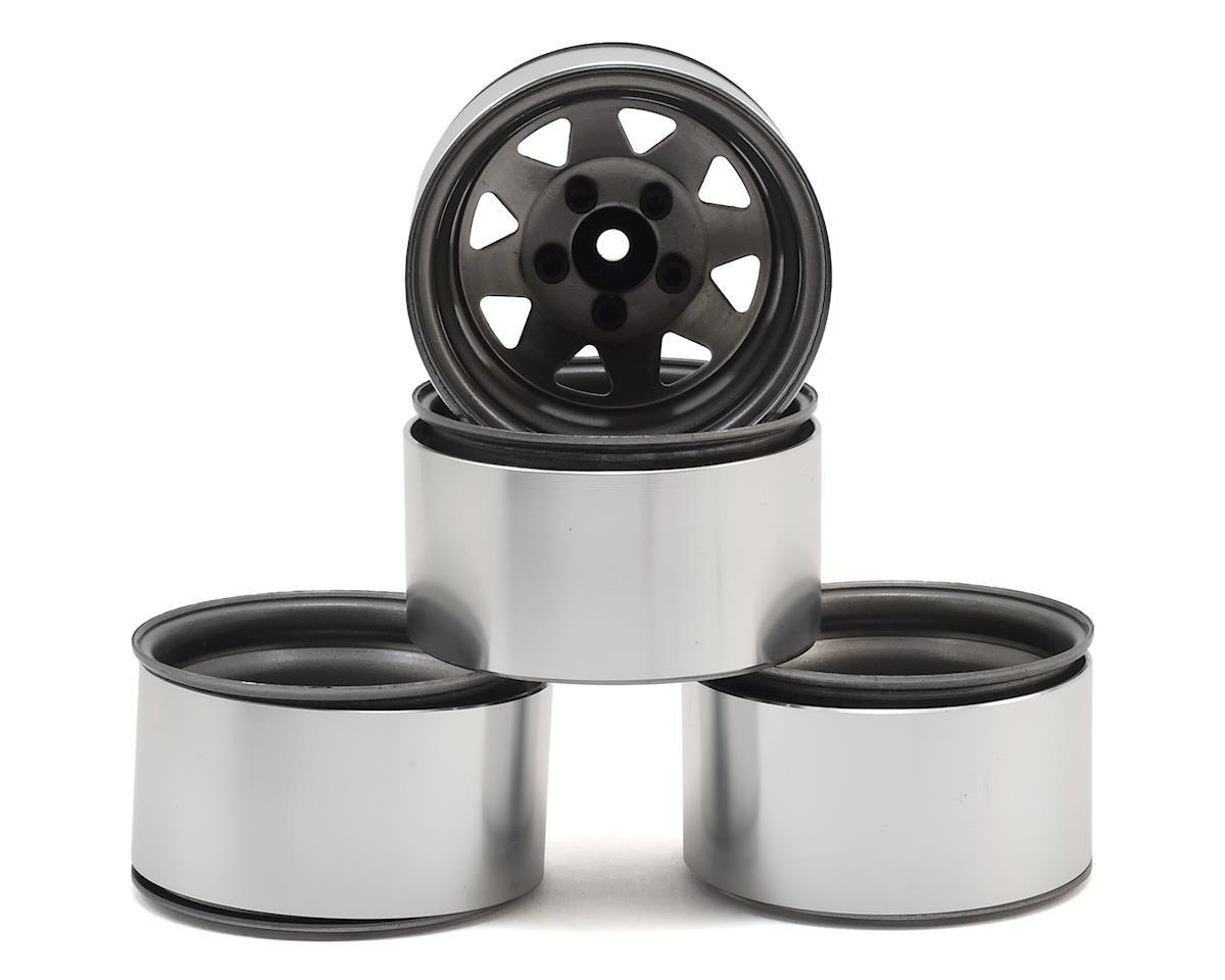 "RC4WD 5 Lug Deep Dish Wagon 1.9"" Steel Stamped Beadlock Wheels (Plain) (GMade Komodo)"