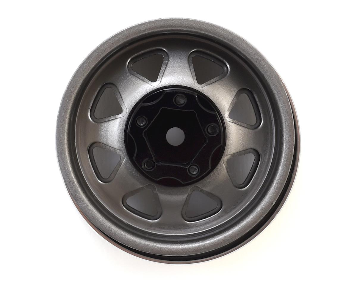 "RC4WD 5 Lug Deep Dish Wagon 1.9"" Steel Stamped Beadlock Wheels (Plain)"