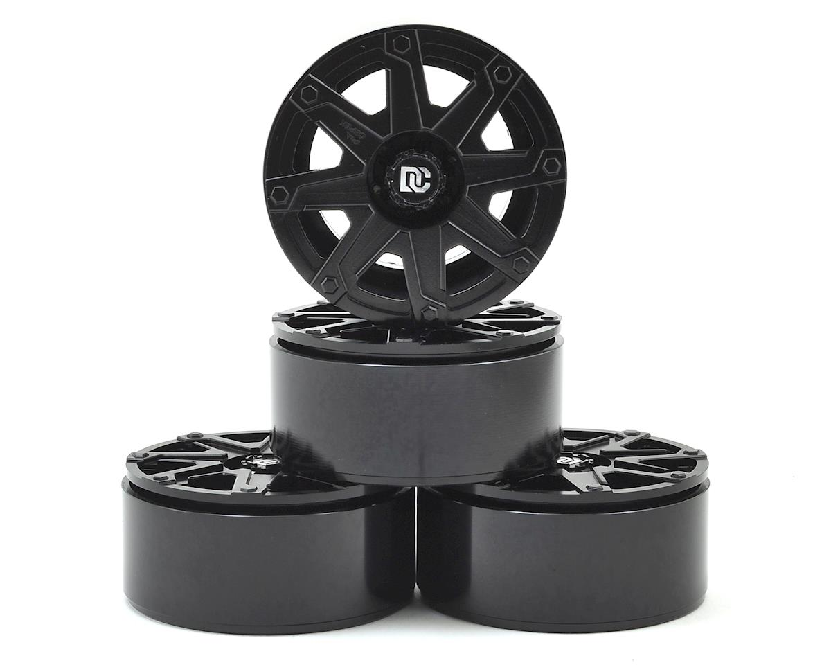"Dick Cepek Terrain 1.9"" Aluminum Beadlock Crawler Wheels (4) by RC4WD"