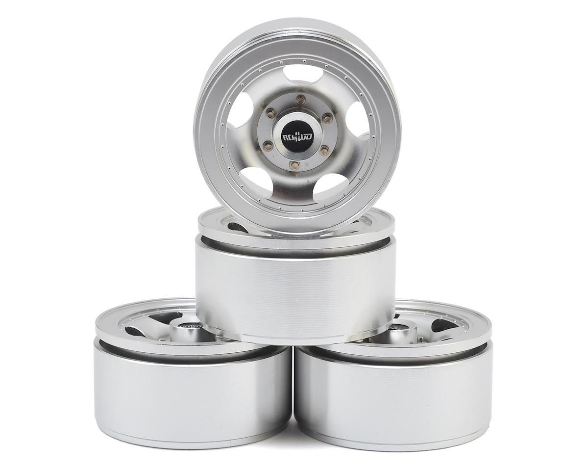 "RC4WD Breaker 1.55"" Beadlock Wheels (Silver) (4)"