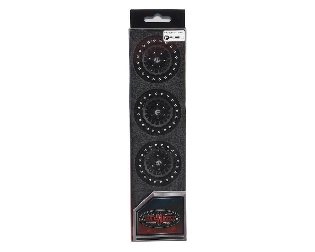 "RC4WD Fuel Zephyr 1.9"" Beadlock Wheels (Black) (4)"