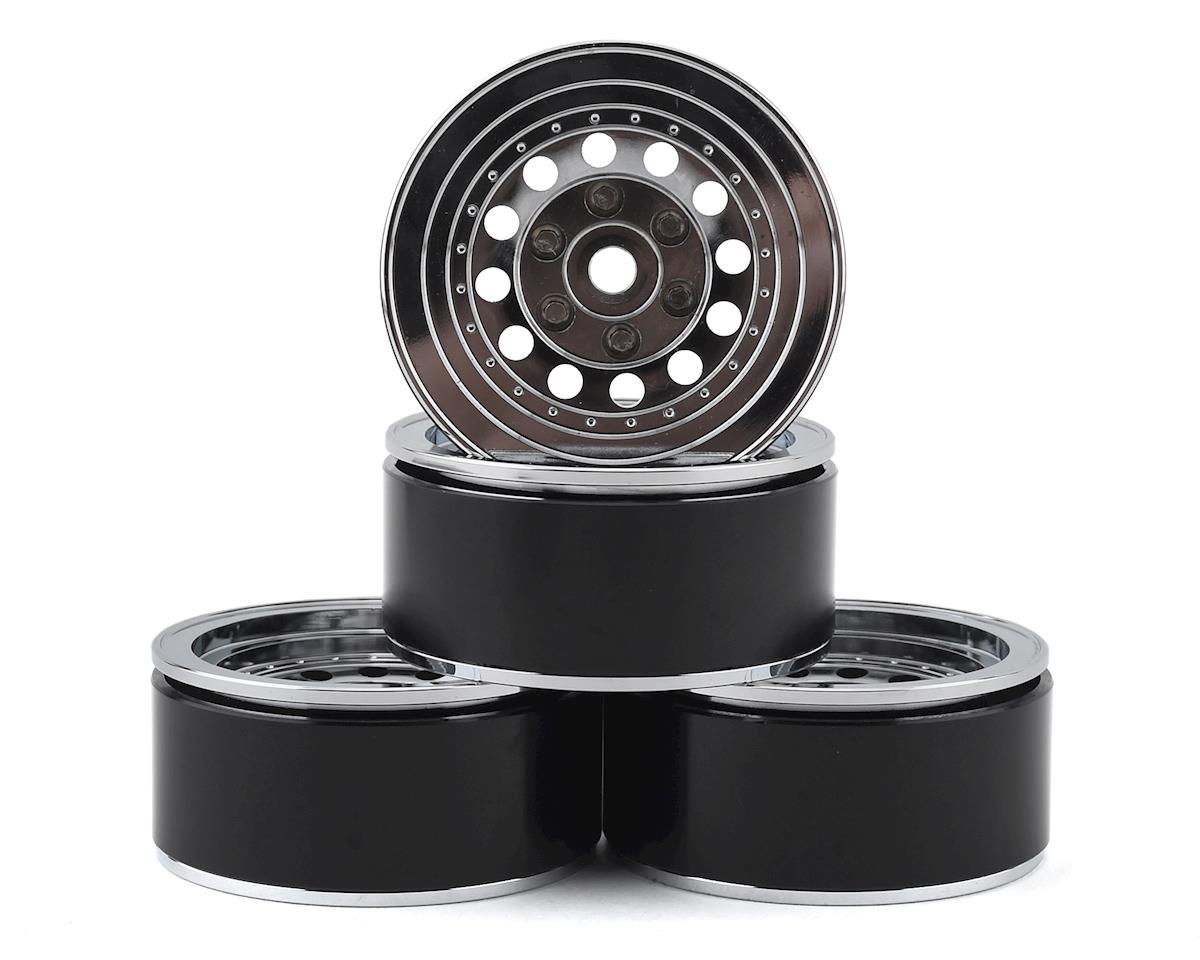 "RC4WD ION Style 71 1.9"" Beadlock Wheels (Silver) (4)"