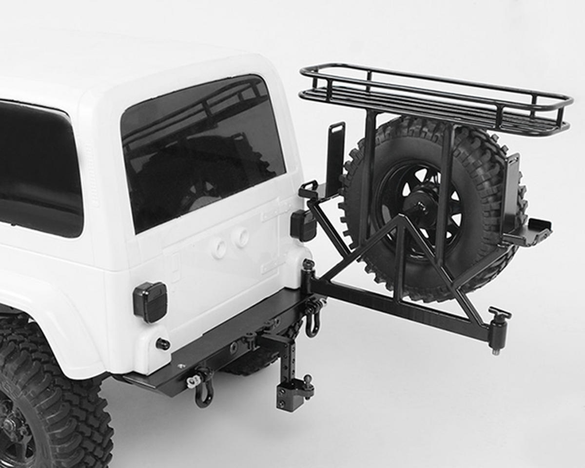 "RC4WD Trail Finder 2 SWB ""Rock Hard 4x4"" Rear Multi Carrier"