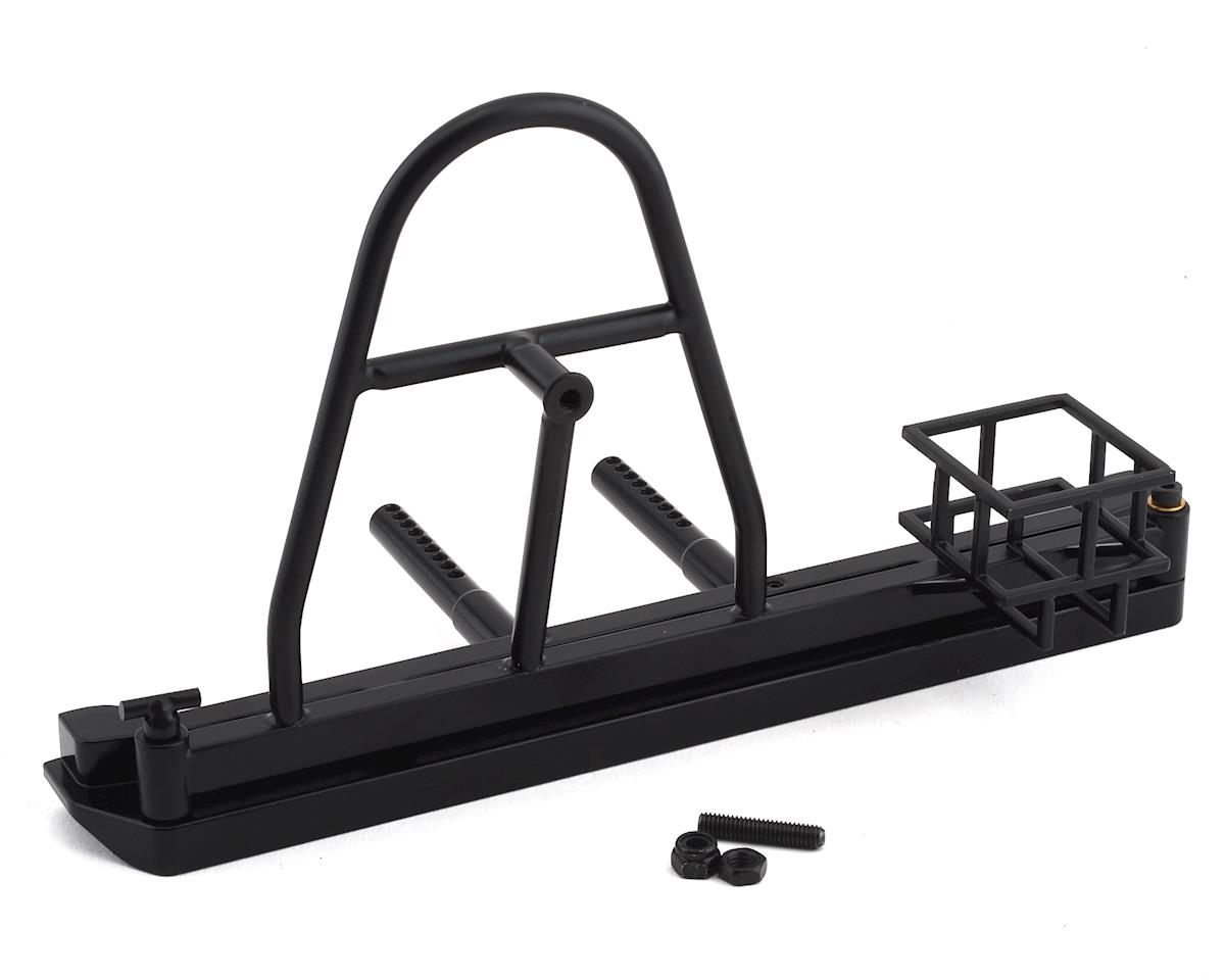RC4WD Axial SCX10 II Cherokee Tough Armor Swing Away Tire Carrier w/Fuel Holder