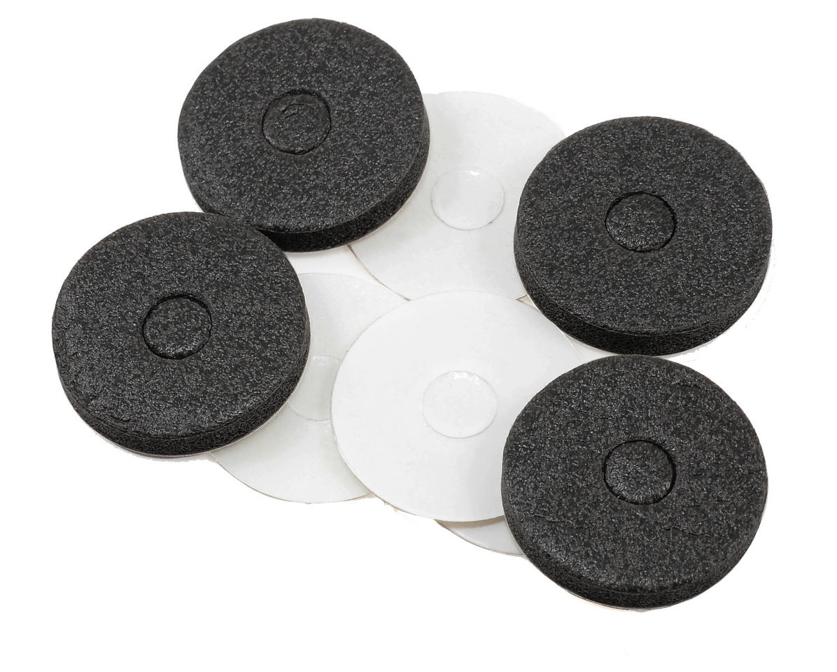 Racers Edge Maxi Mount Body Foam Pad & Plastic Disk (4)