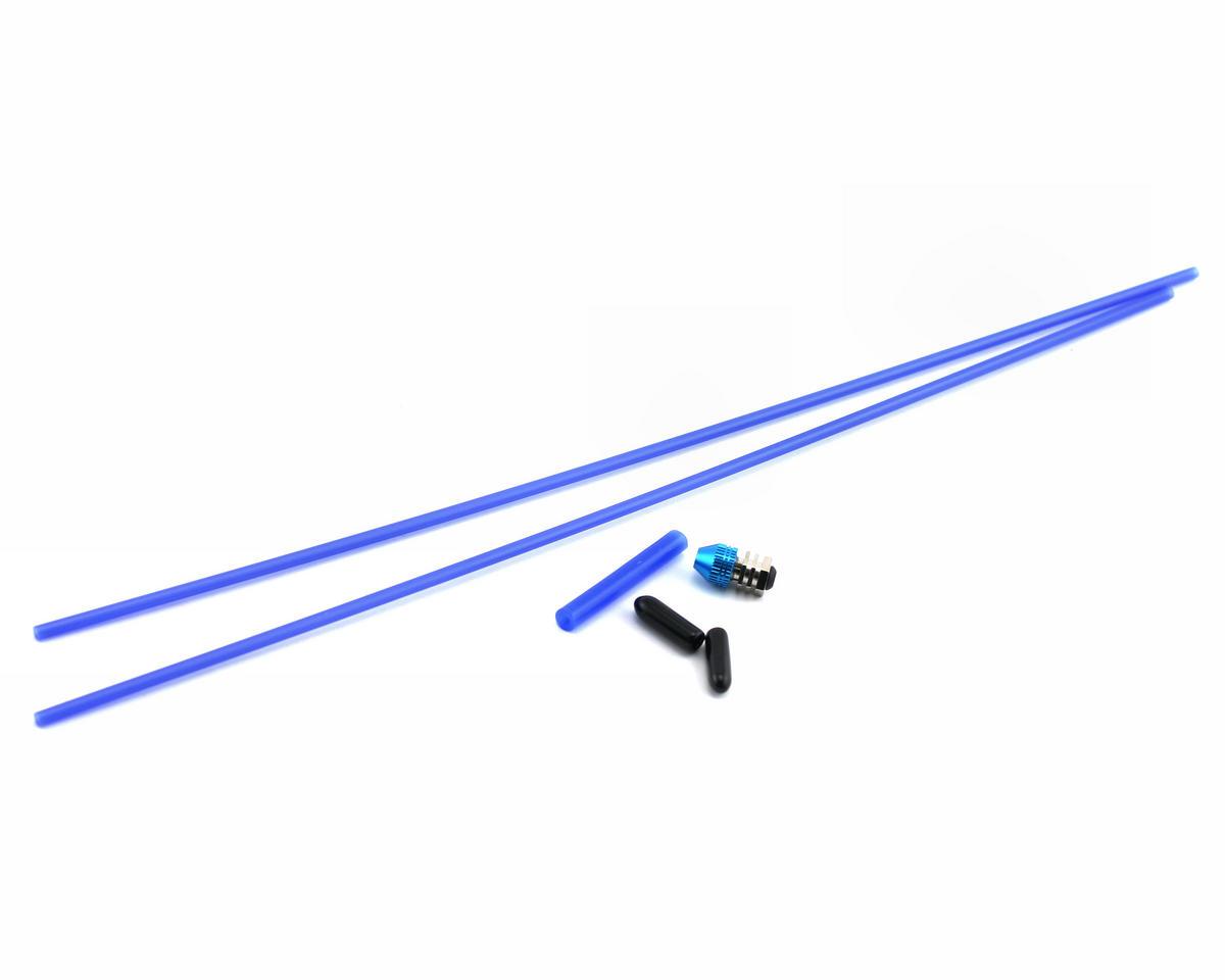 Racers Edge Aluminum Antenna Mount (Blue)
