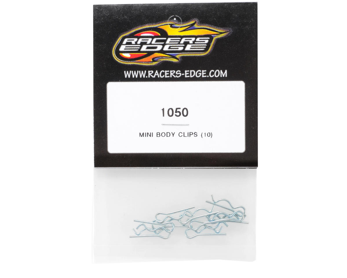 Racers Edge Mini Body Clips (10)
