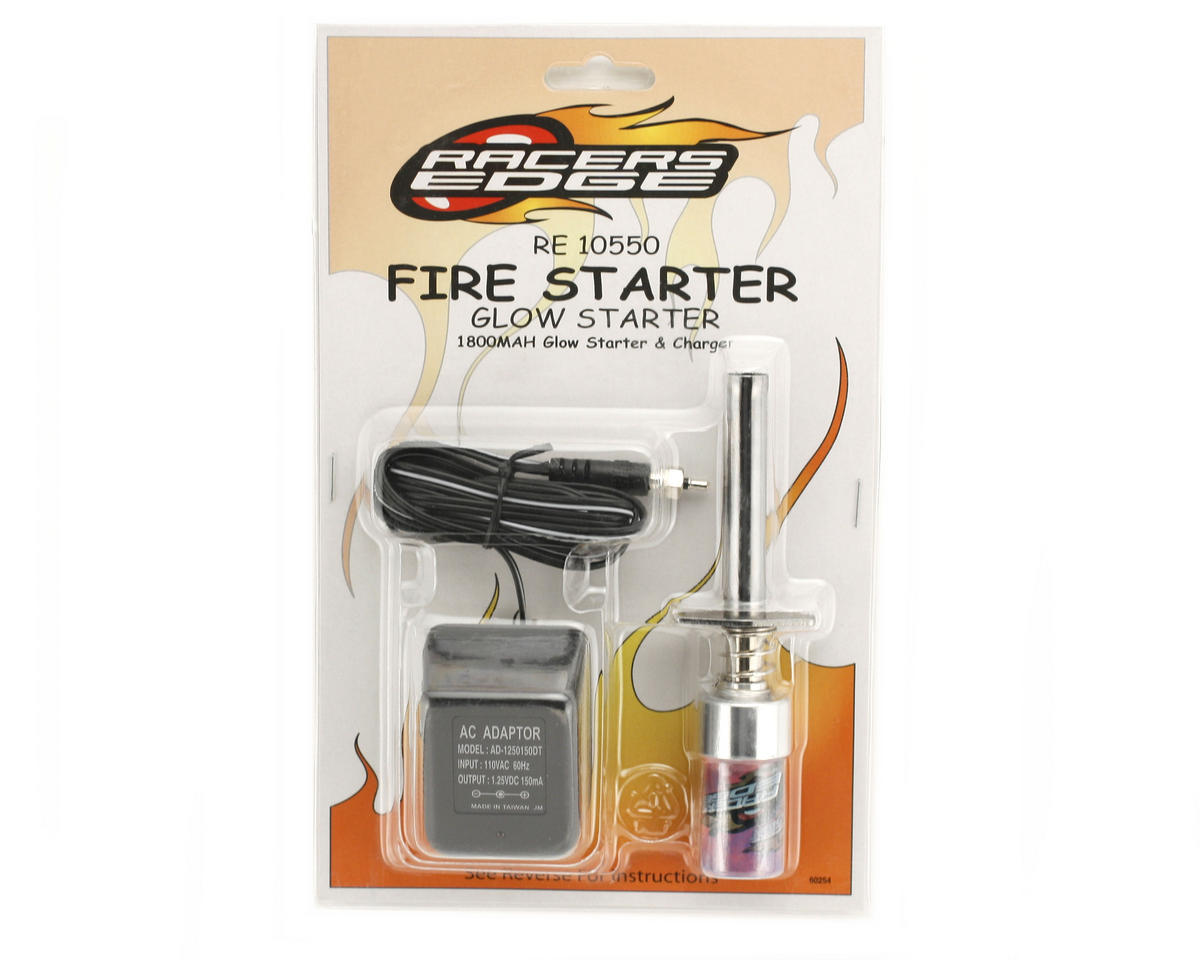 Racers Edge 1800mAh Glow Starter/Charger