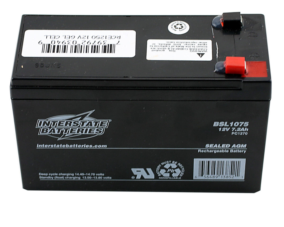 Racers Edge 12V 7.2AH Gel Cell Battery