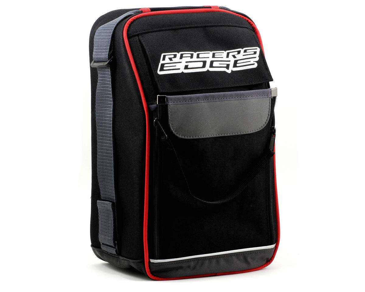 Racers Edge Transmitter Bag (Black/Red)