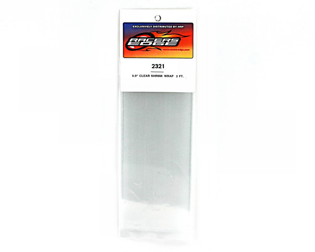 "Racers Edge Clear Battery Shrink Wrap (3"" wide, 2' long)"