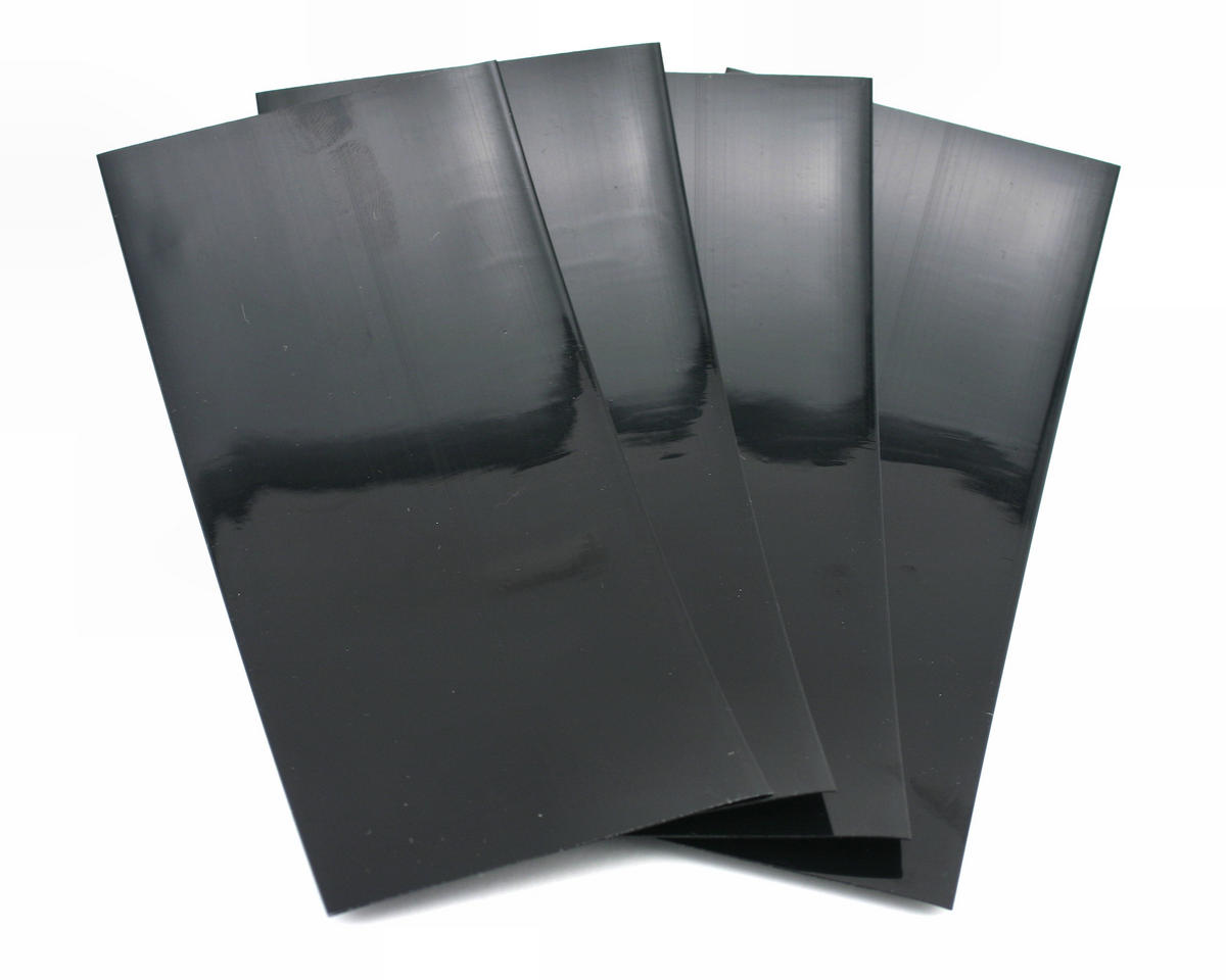 "Black Battery Shrink Wrap (3"" wide, 2' long) by Racers Edge"