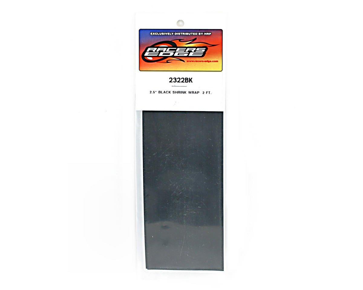"Racers Edge Black Battery Shrink Wrap (2.5"" wide, 2' long)"