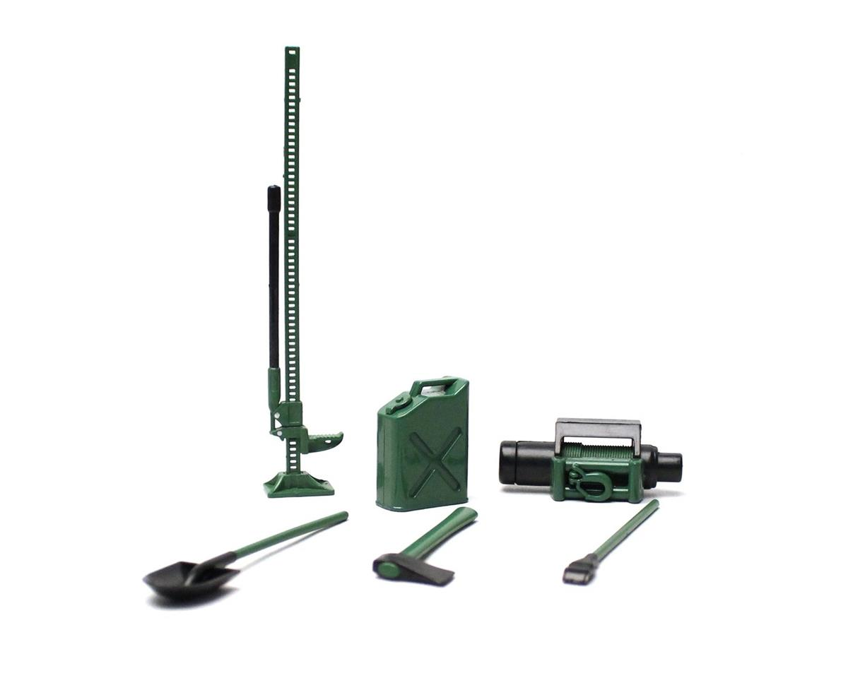 Racers Edge 1/10 Scaler Accessory Set (8pcs) - Green