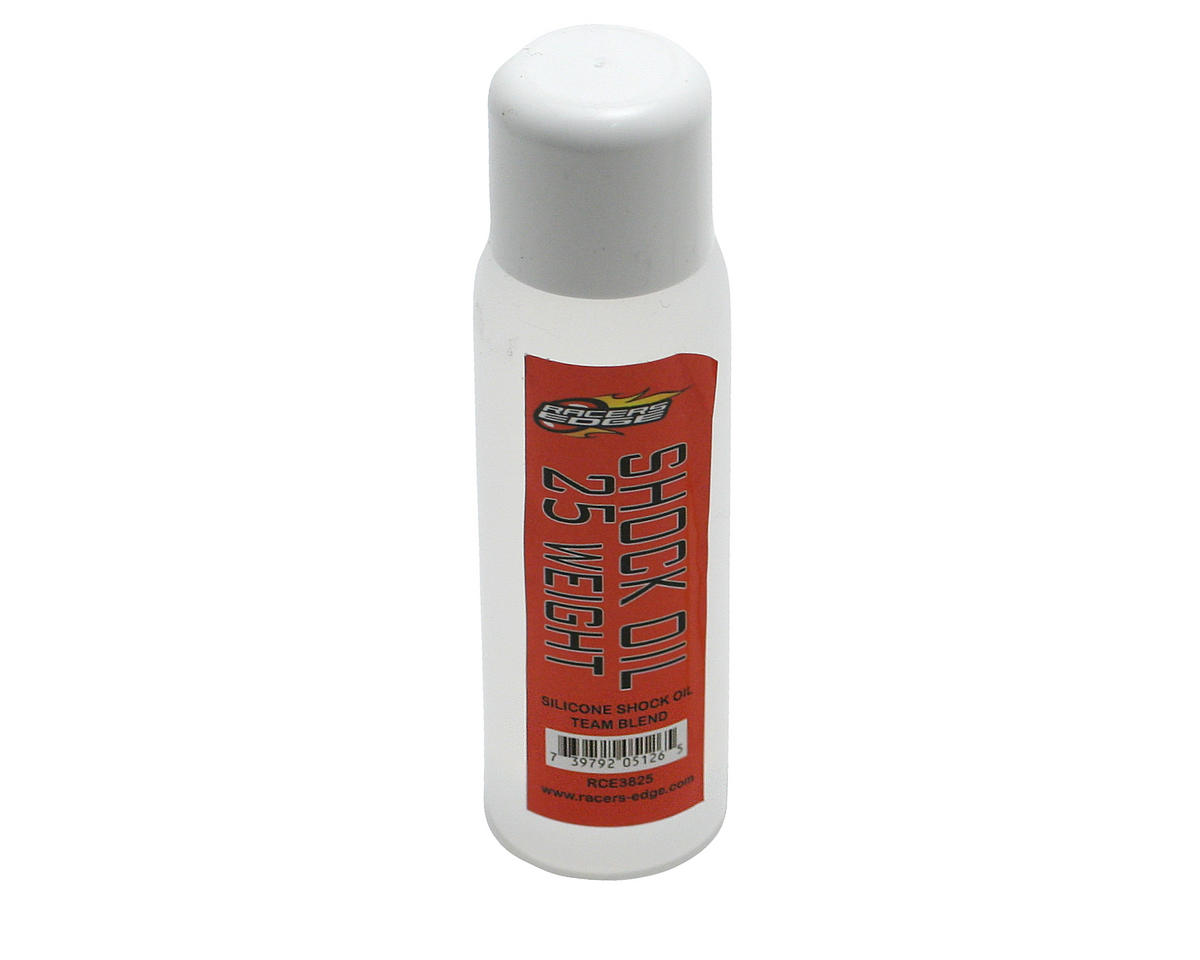 Silicone Shock Oil (25wt) (2oz) by Racers Edge