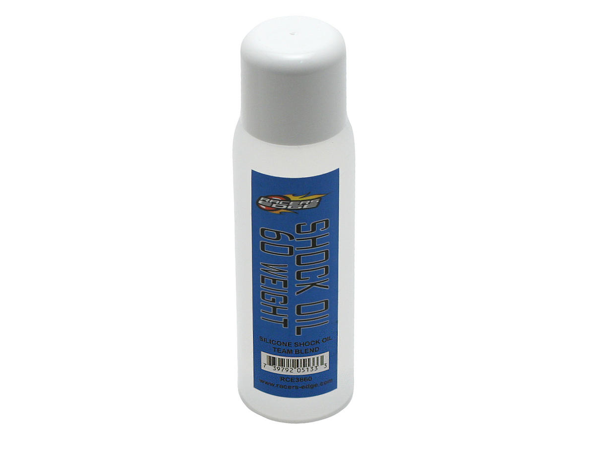 Racers Edge Silicone Shock Oil (60wt) (2oz)