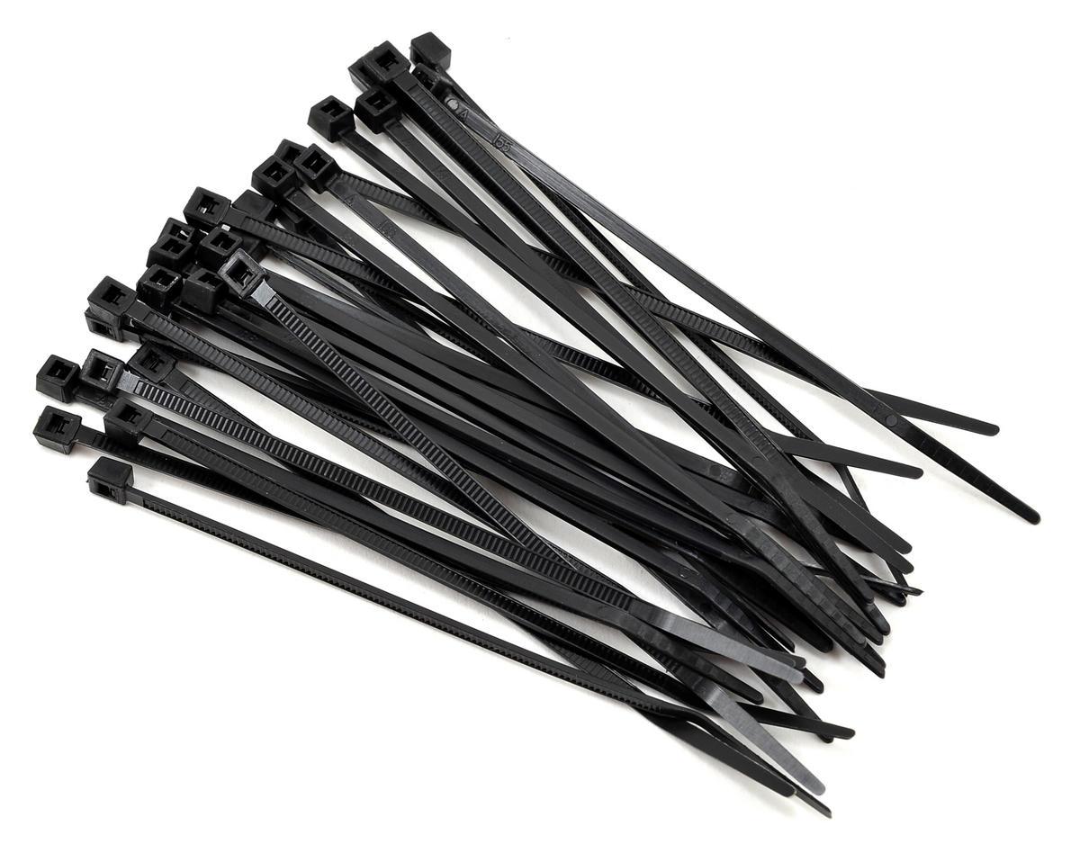 Black Zip Ties >> Racers Edge 4 Black Zip Tie Wraps 30