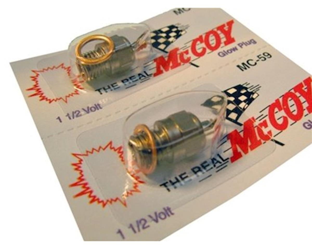 McCoy #59 Hot Glow Plug (1) by Racers Edge