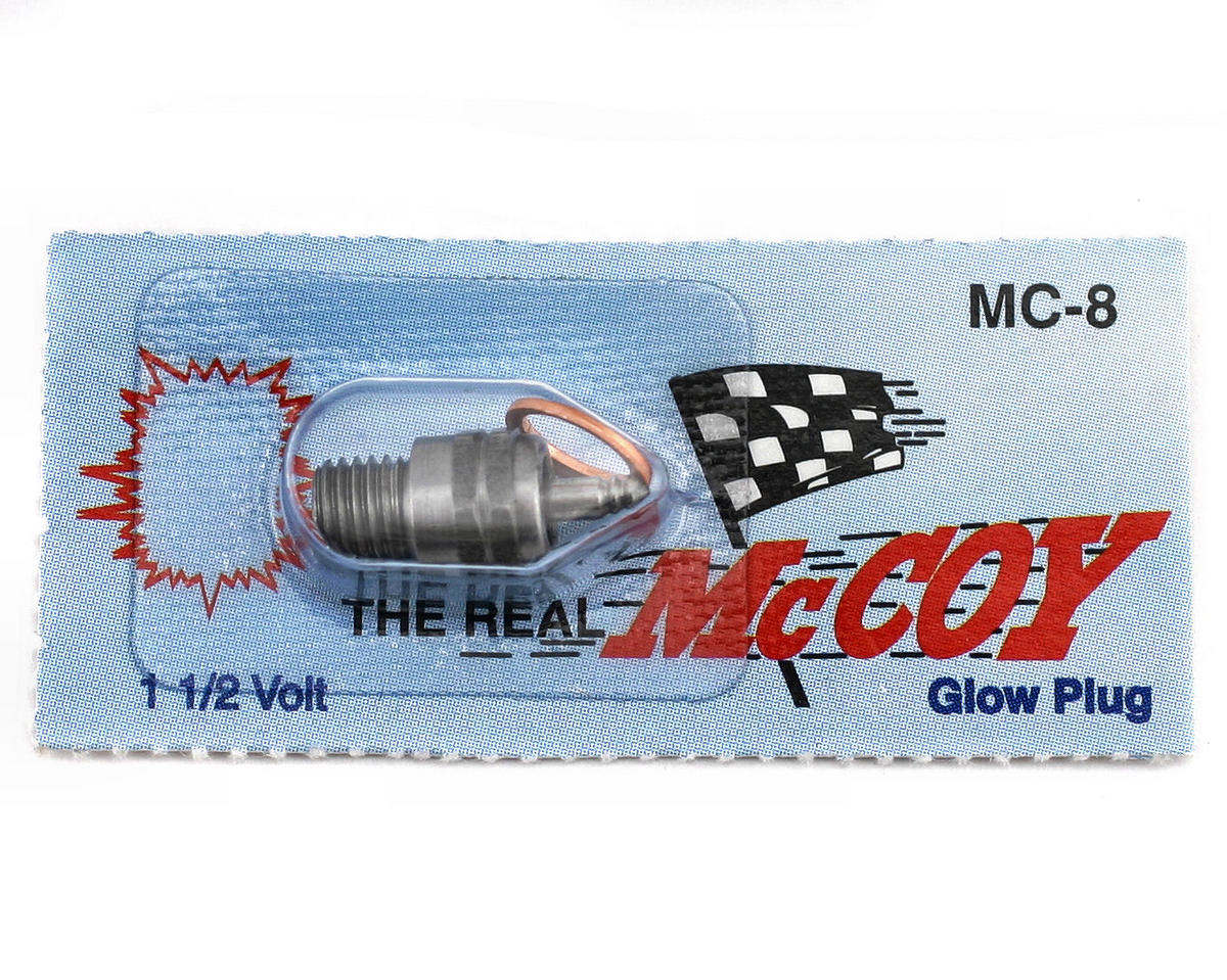 #8 Medium Glow Plug (1) by McCoy
