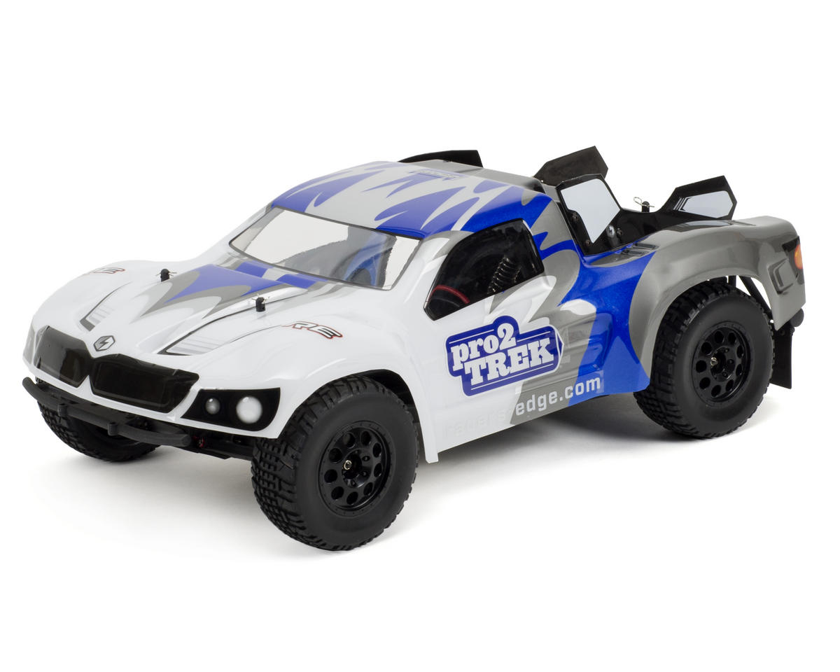 Racers Edge Pro2 TREK 1/10 Brushless Short Course Truck w/2.4GHz Radio System (Blue)