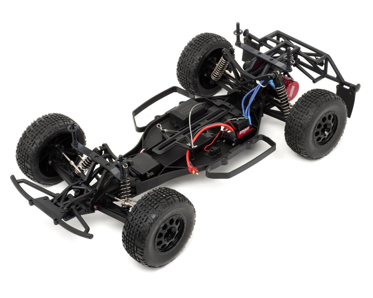 Racers Edge Pro2 1/10 Brushless Short Course Truck w/GLG20 2.4GHz Radio System (Red)