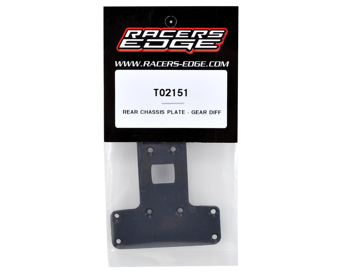 Racers Edge Rear Chassis Plate (Gear Differential)