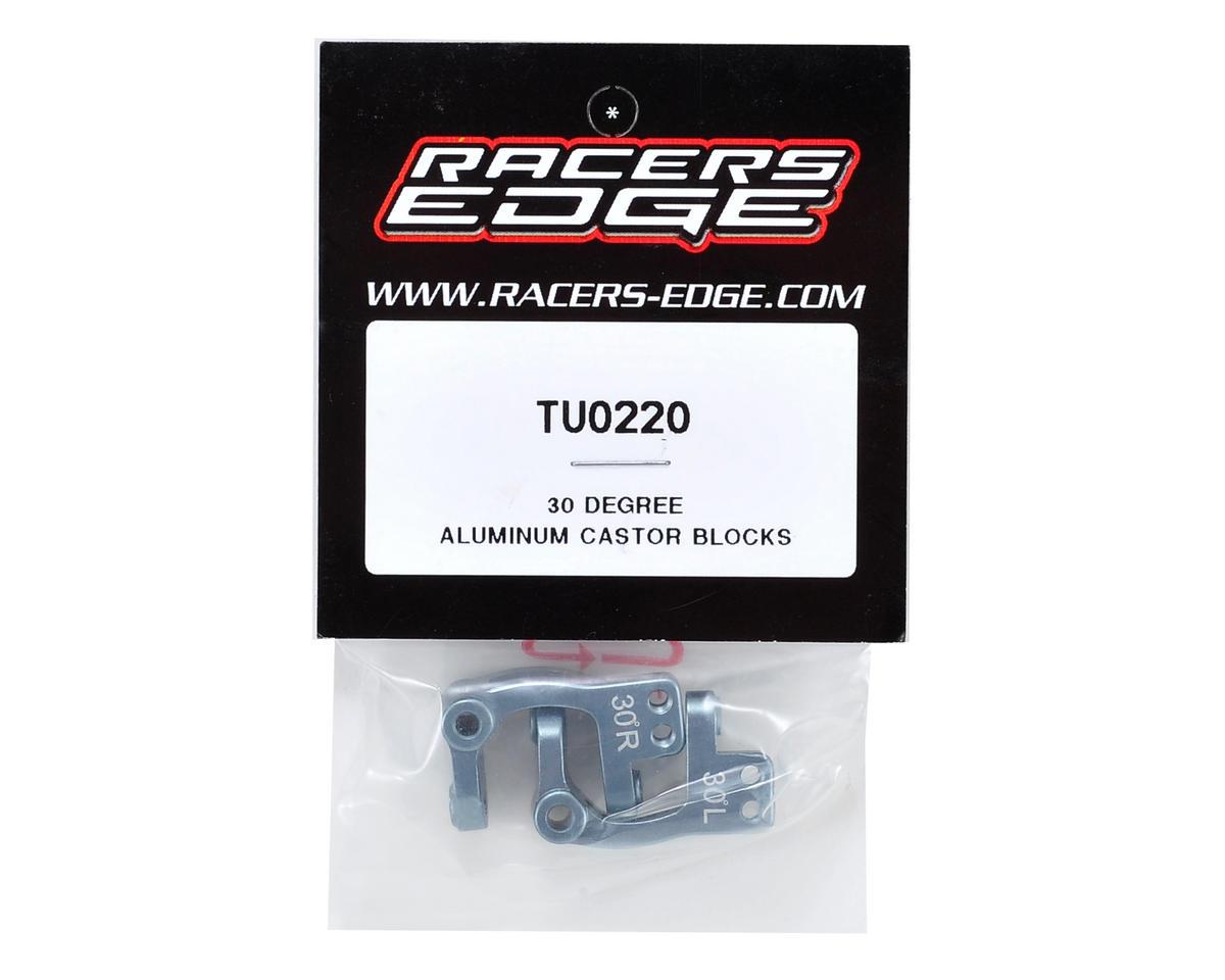 Racers Edge 30° Aluminum Castor Block Set