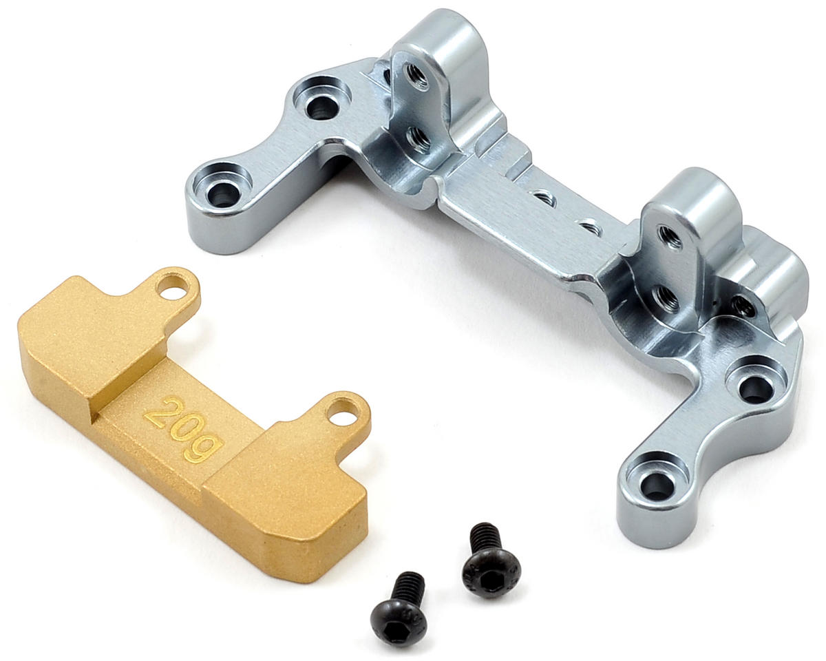 Racers Edge Aluminum Rear Brace Mount w/20g Weight
