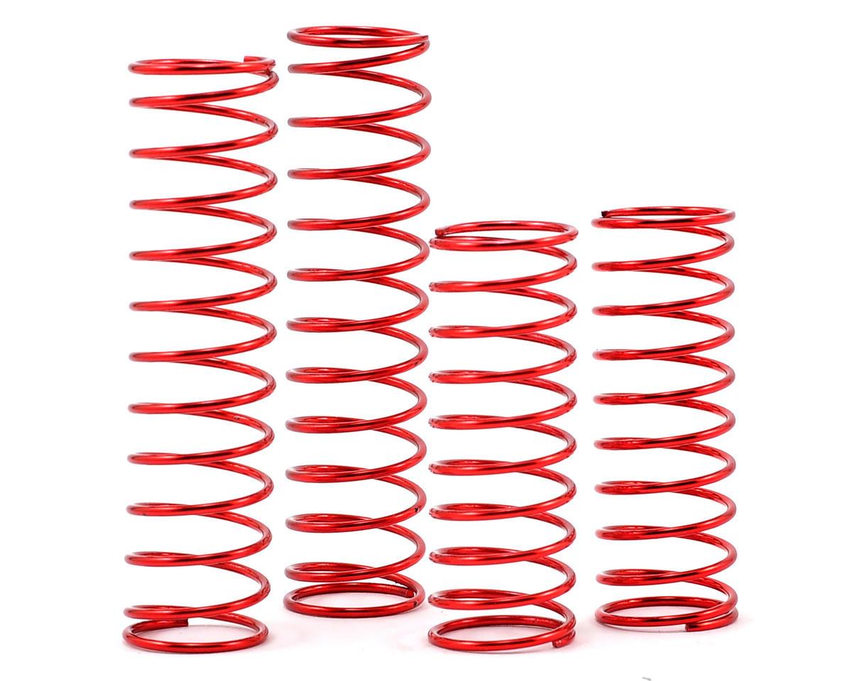 Racers Edge Spring Set (4) (Medium/Red)