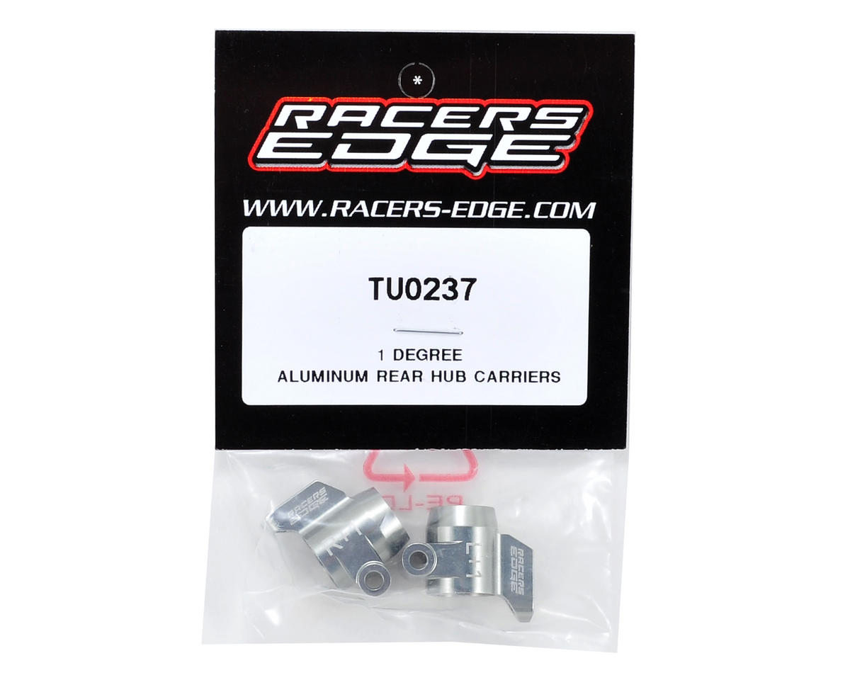 Racers Edge 1° Aluminum Rear Hub Carrier Set