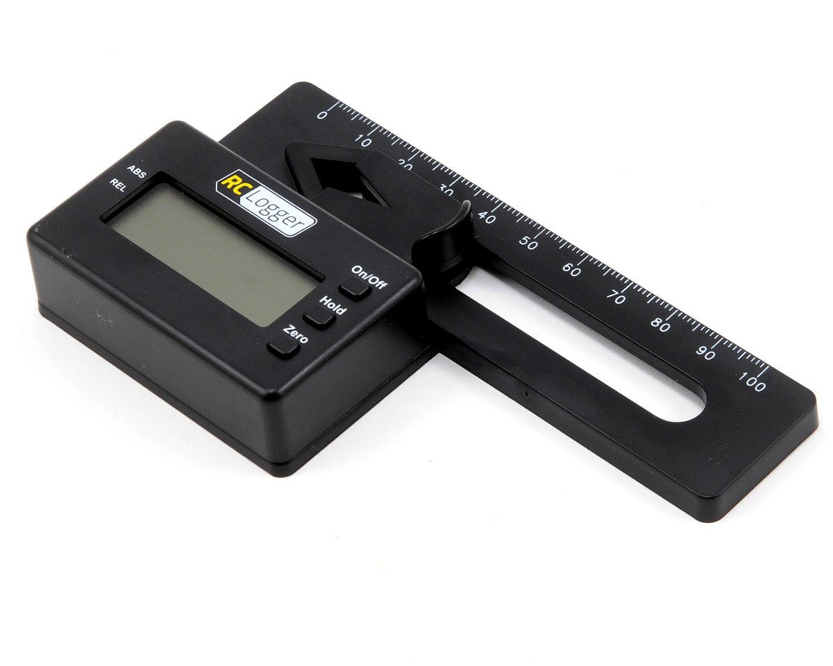 Digital Pitch Gauge by RC Logger
