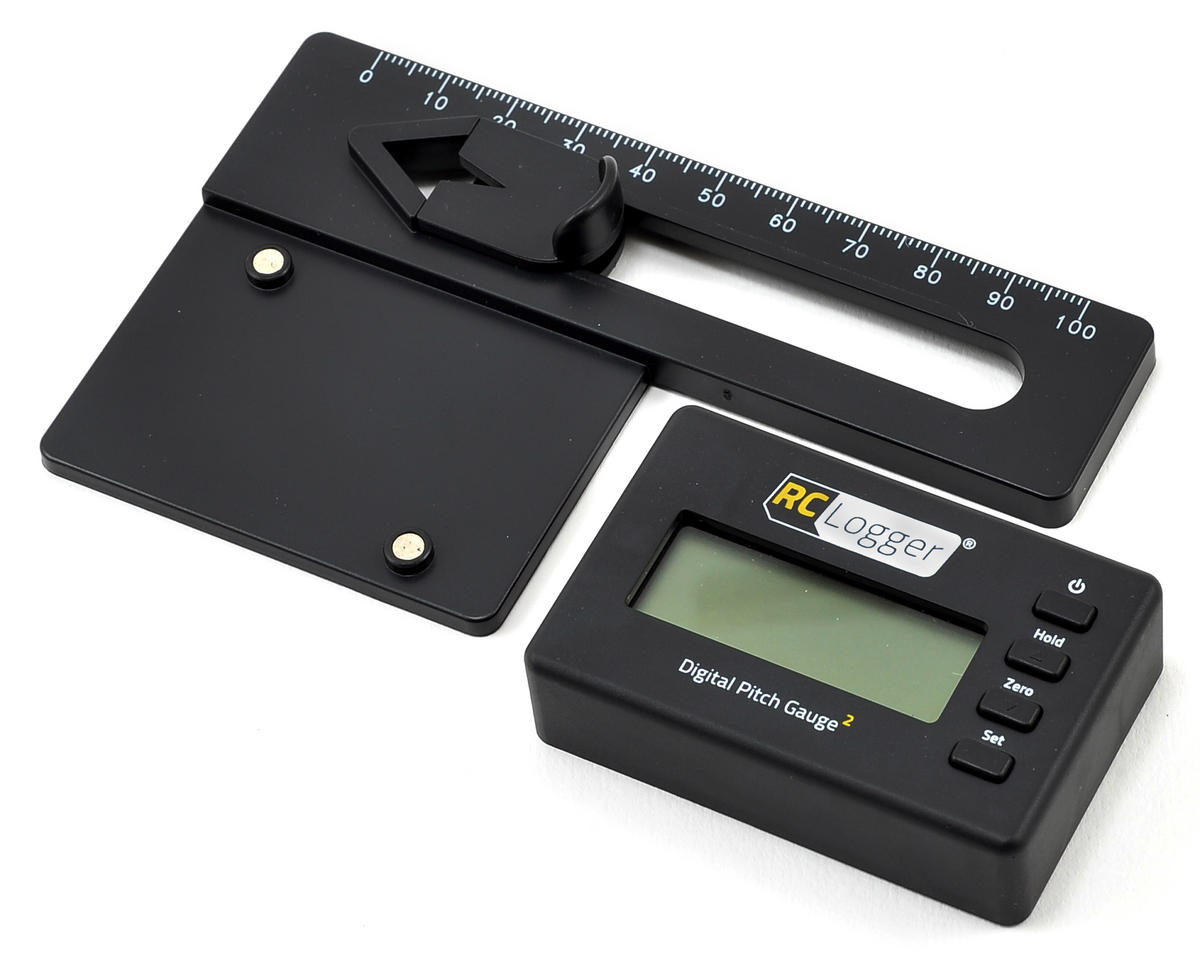 Digital Pitch Gauge 2 Lite by RC Logger