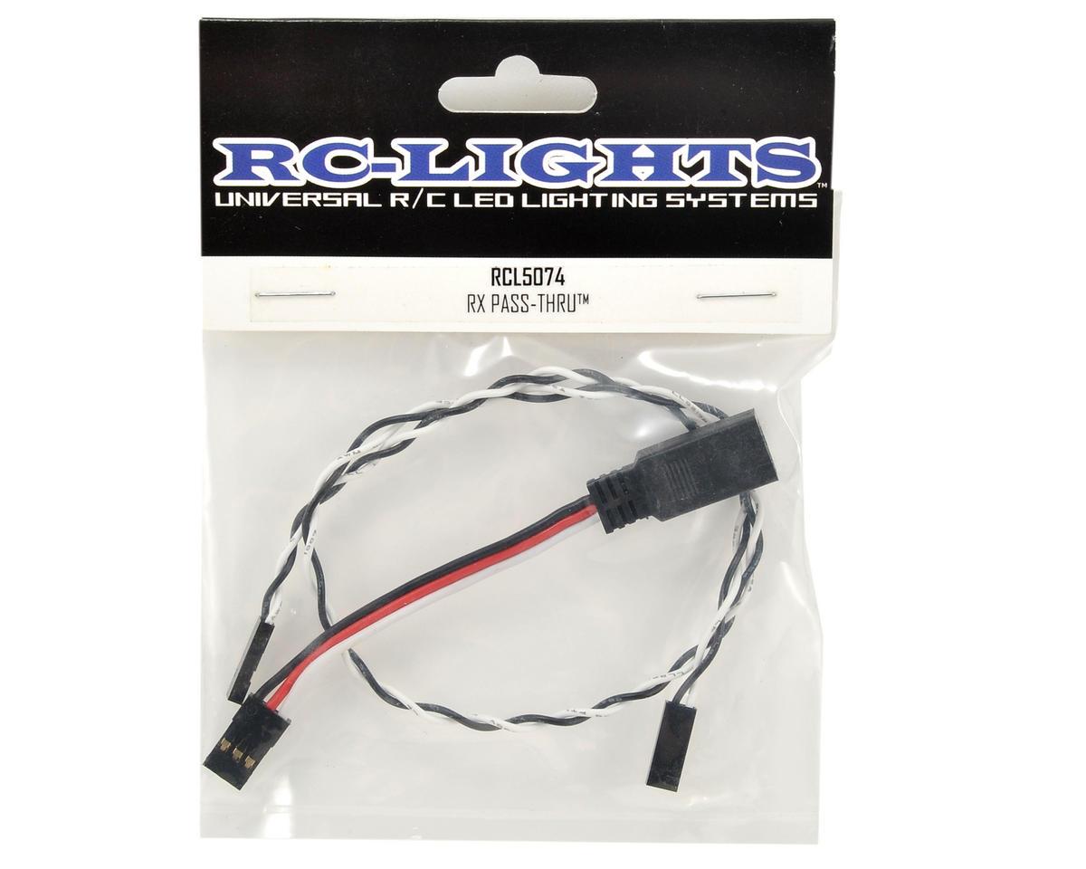 RC Lights Receiver Pass-Thru Harness
