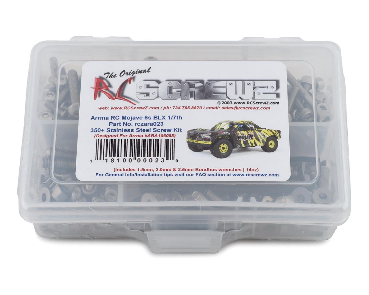 RC Screwz Arrma Mojave 6S BLX Stainless Steel Screw Kit | relatedproducts