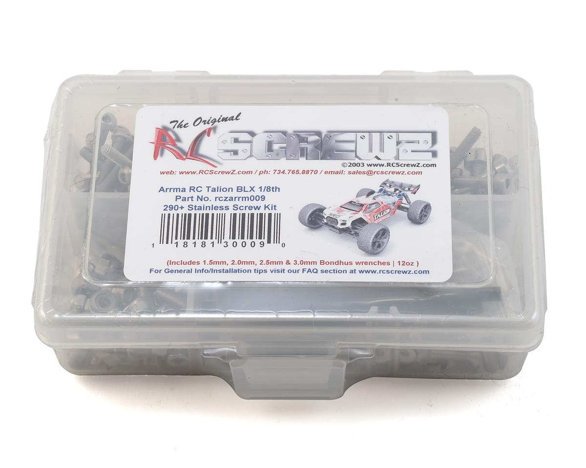 RC Screwz Arrma RC Talion BLX Stainless Steel Screw Kit