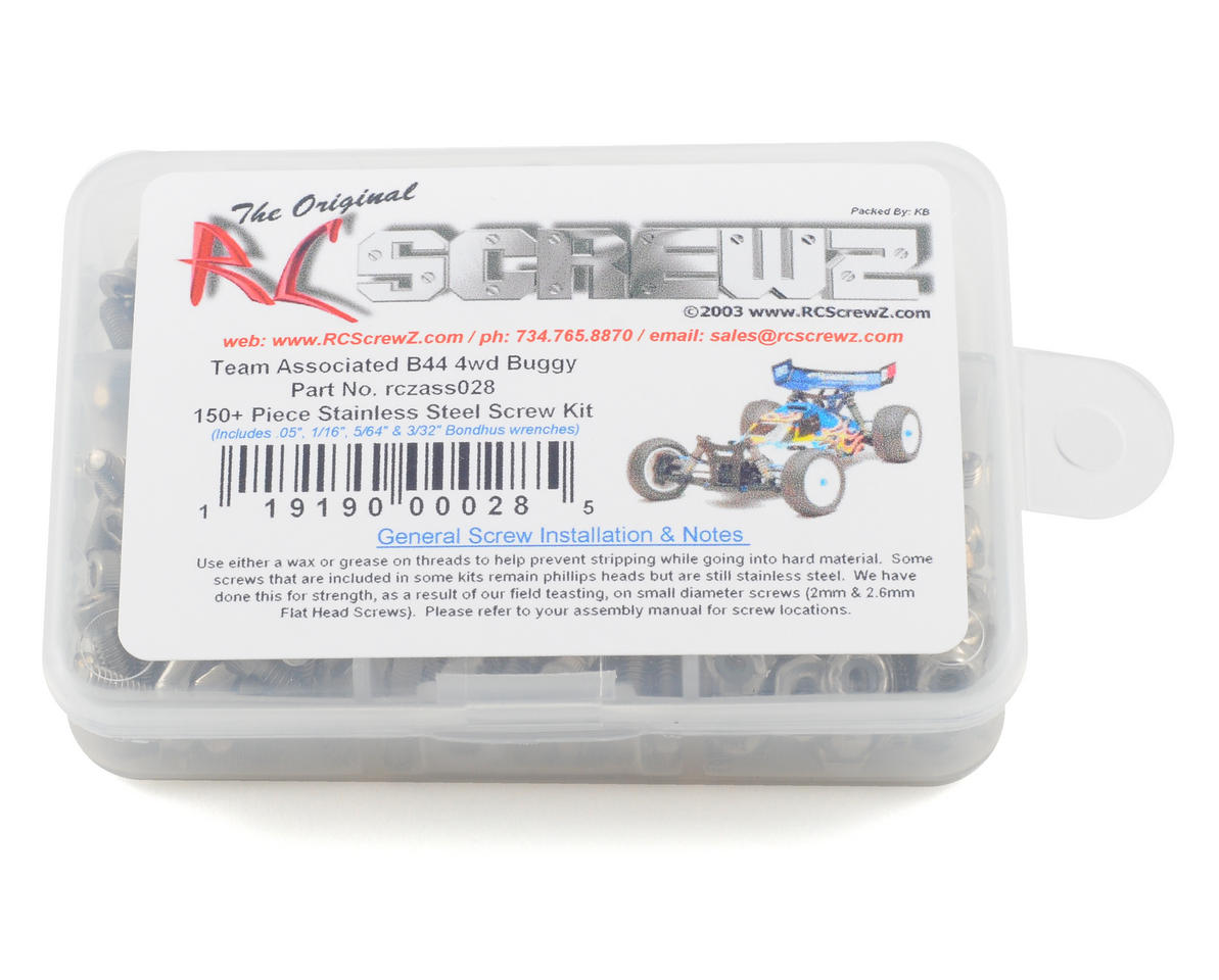 RC Screwz B44.1 Stainless Steel Screw Kit