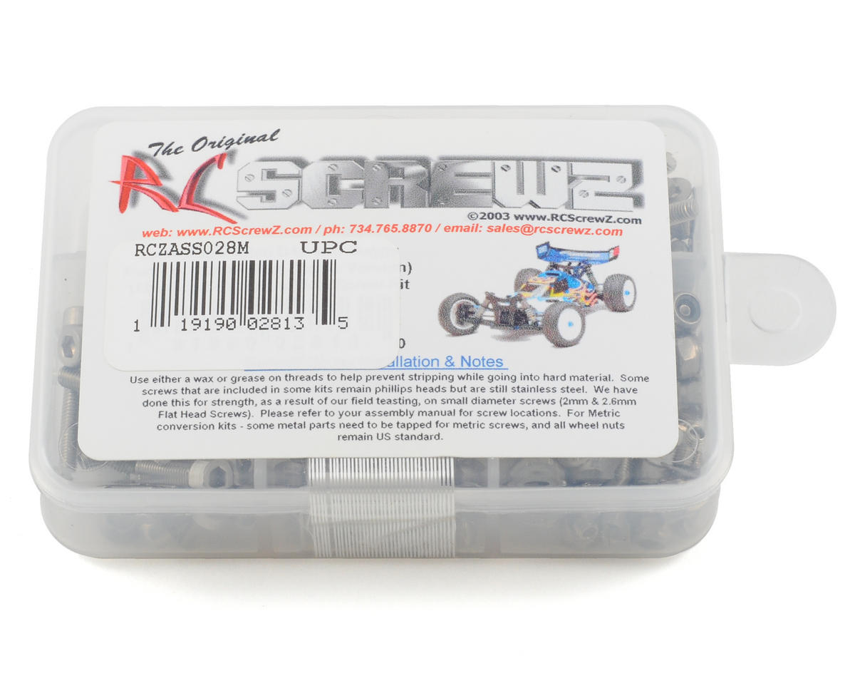 RC Screwz B44 Stainless Steel Screw Kit (Metric Conversion)