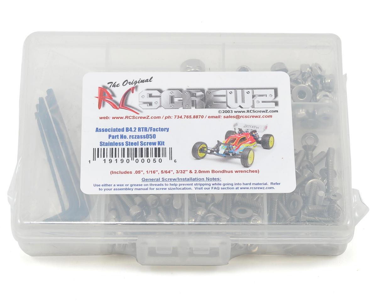 B4.2 Stainless Steel Screw Kit by RC Screwz