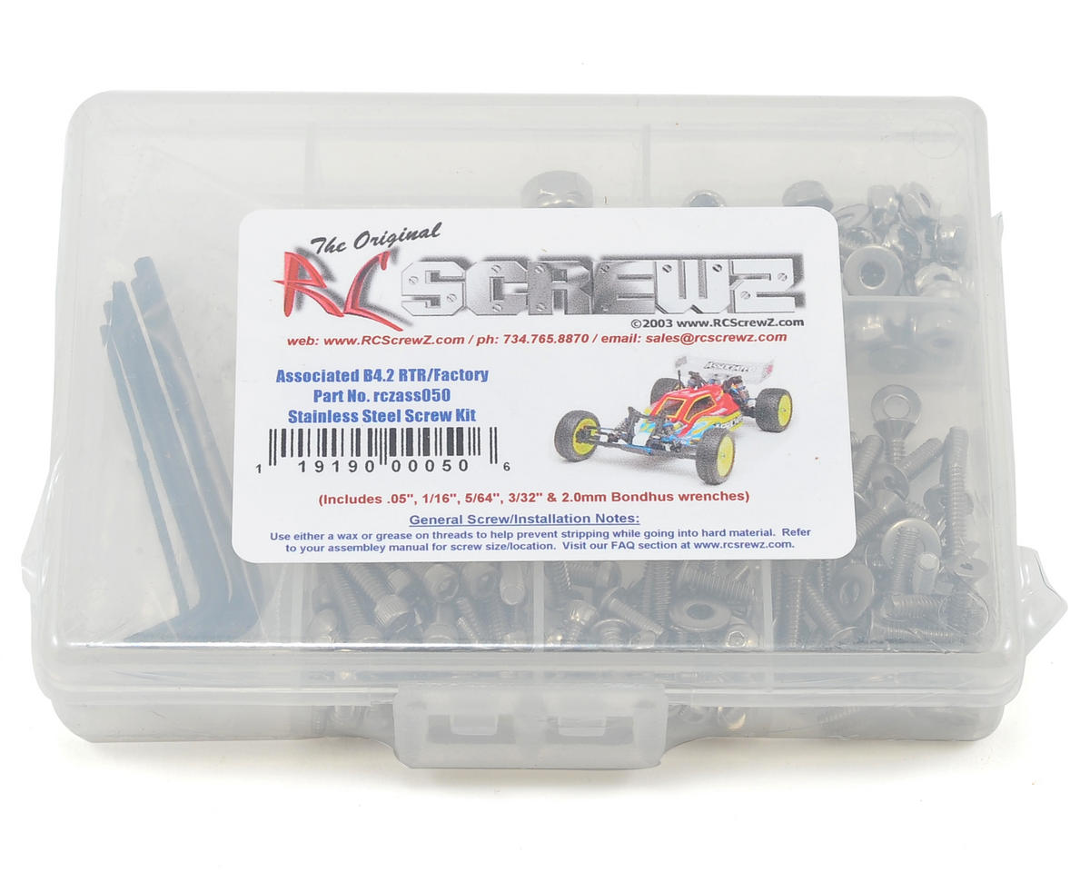RC Screwz B4.2 Stainless Steel Screw Kit