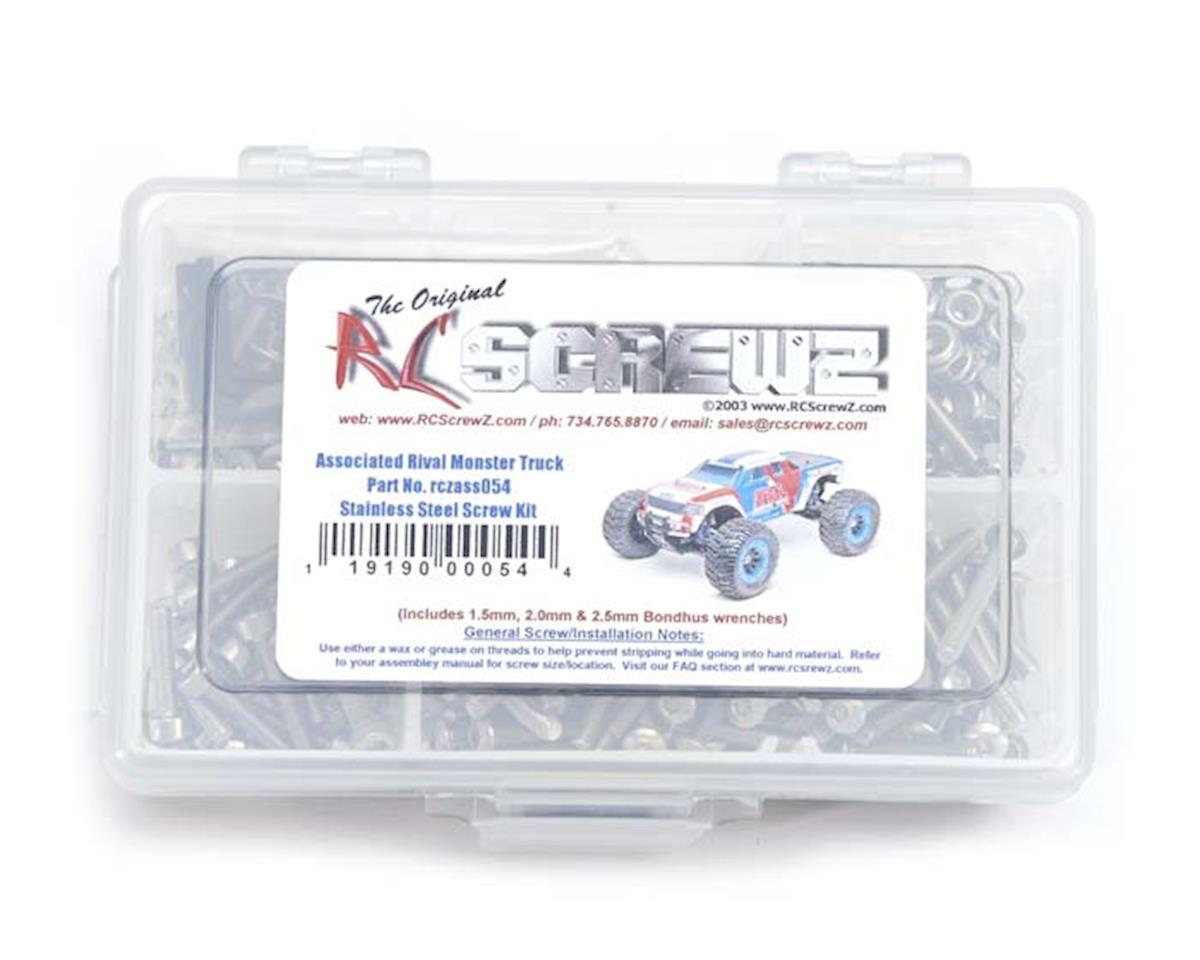 RC Screwz SS Screw Kit ASC Team Associated Rival Monster Truck