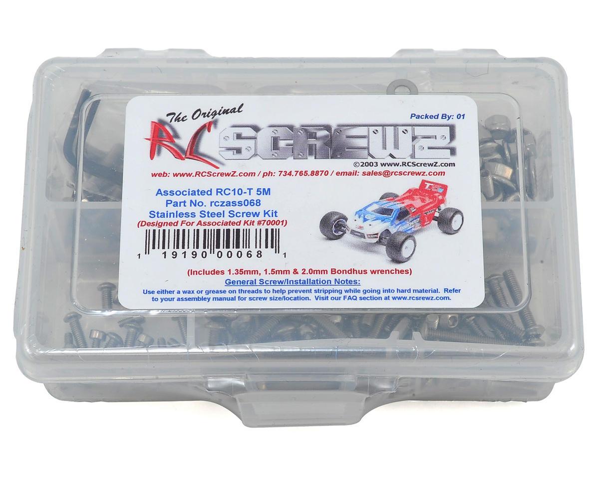 T5M Stainless Steel Screw Kit by RC Screwz