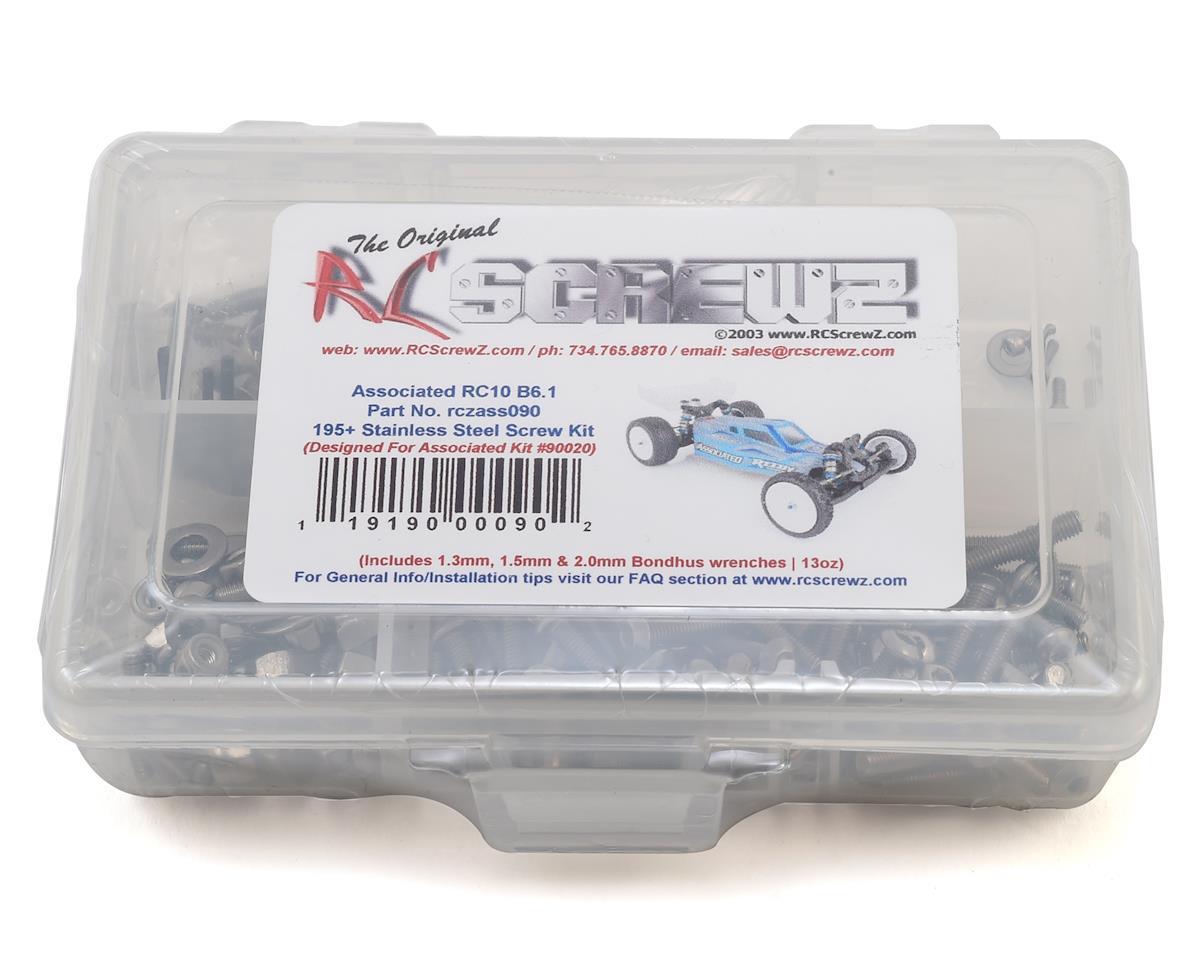 RC Screwz Associated RC10B6.1 Stainless Steel Screw Kit