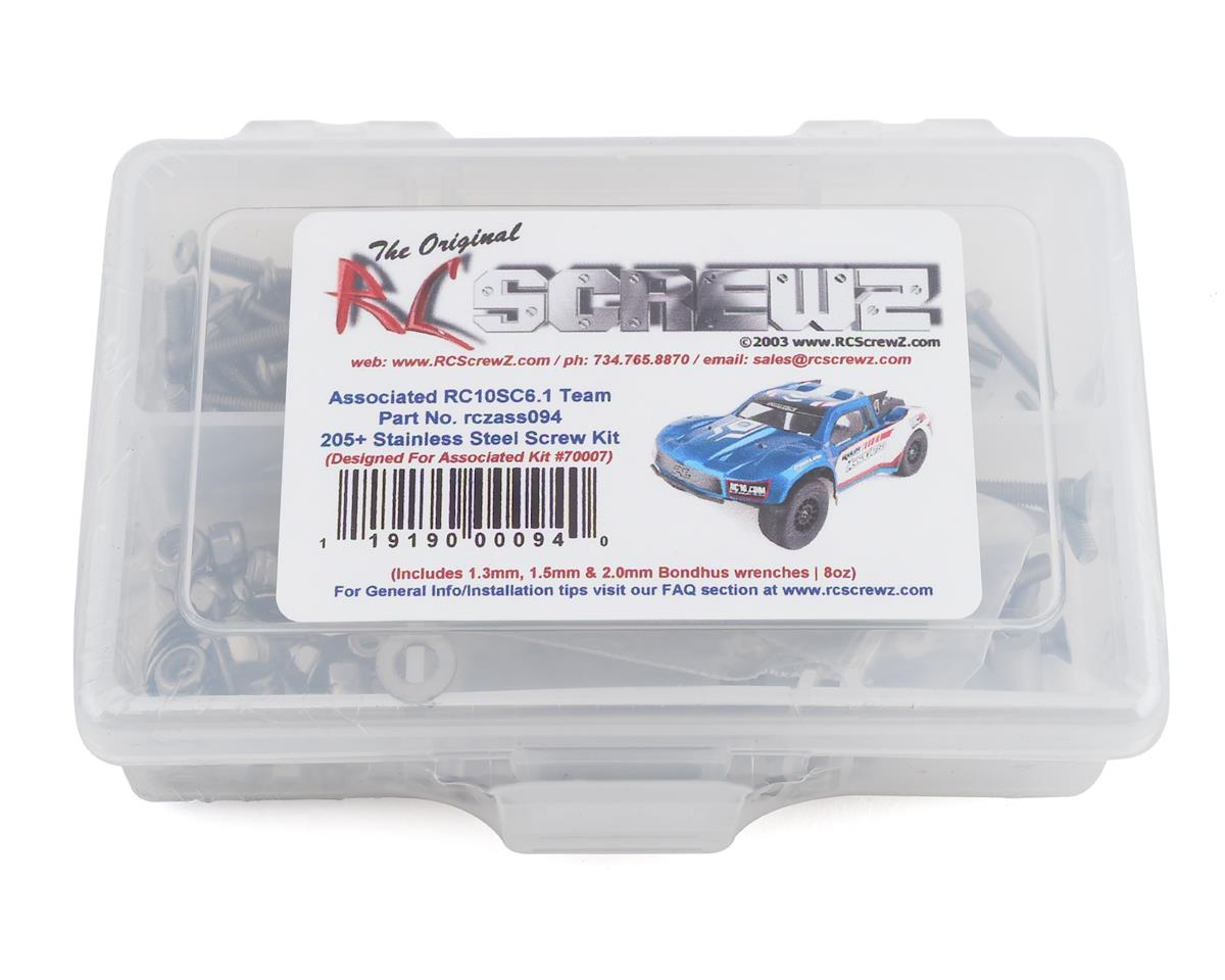 RC Screwz Associated RC10SC6.1 Stainless Steel Screw Kit