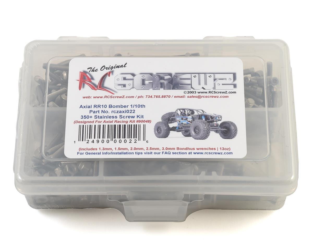 RC Screwz Axial RR10 Bomber Crawler Stainless Steel Screw Kit