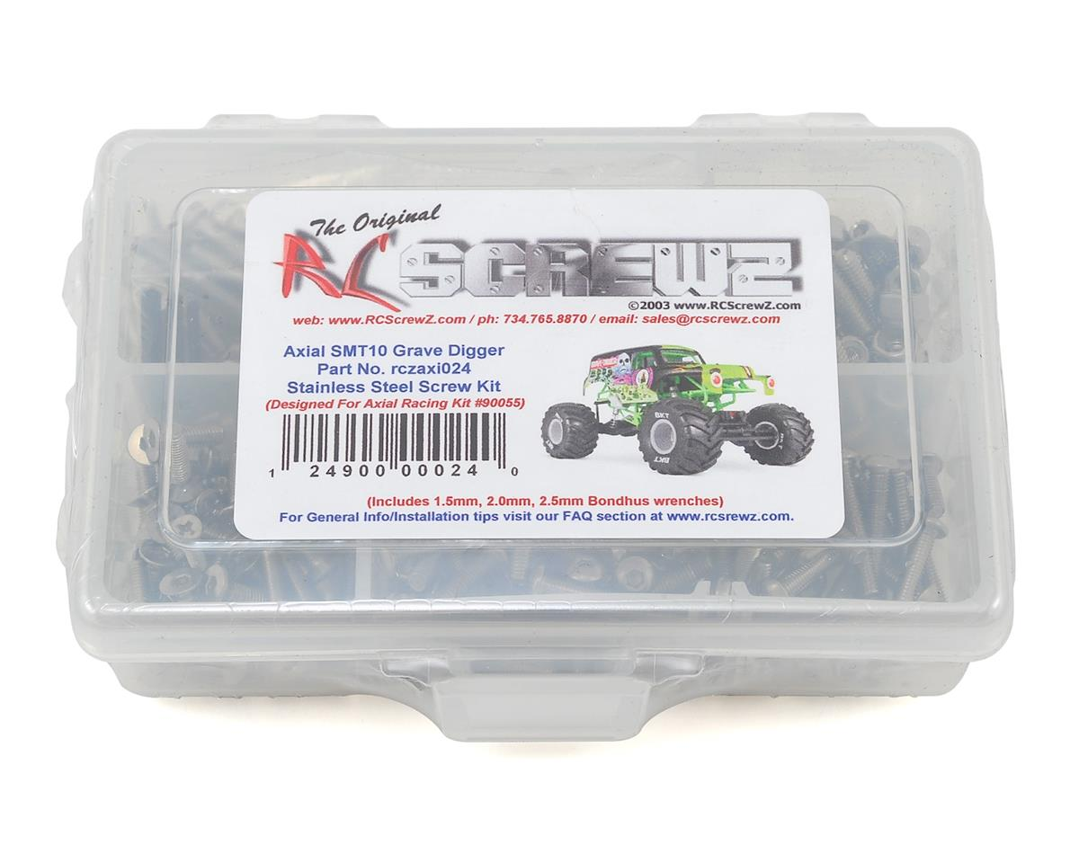 RC Screwz Axial SMT10 Grave Digger Stainless Steel Screw Kit